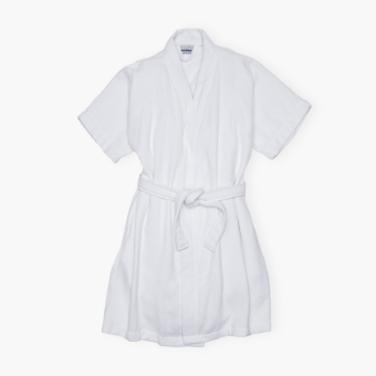 Canadian Waffle Terry Bathrobe (White) Price Philippines
