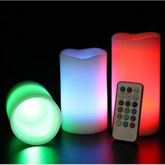Candles Flameless Changing LED Light with Remote Control Timer - 4