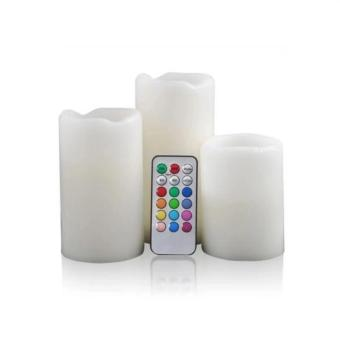 Candles Flameless Changing LED Light with Remote Control Timer - 5