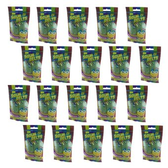 Candy Land Gummy Sour Apple Belt 50g Set of 20 Price Philippines