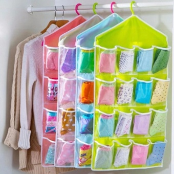 Candy Online 16 Pockets Door Wardrobe Hanging Bag Storage Organizer