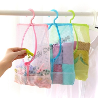 Candy Online 3PCS Hanging Multi-purpose Net Bag Storage Bag