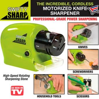 Candy Online As Seen On TV Swifty Sharp Kitchen Motorized KnifeSharpener