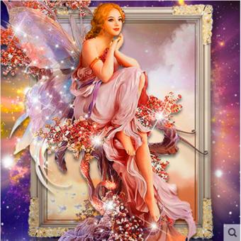 Candy Online Butterfly Elves DIY 5D Diamond Painting Cross StitchFull Drill Rhinestone Painting Decor J001 - 3