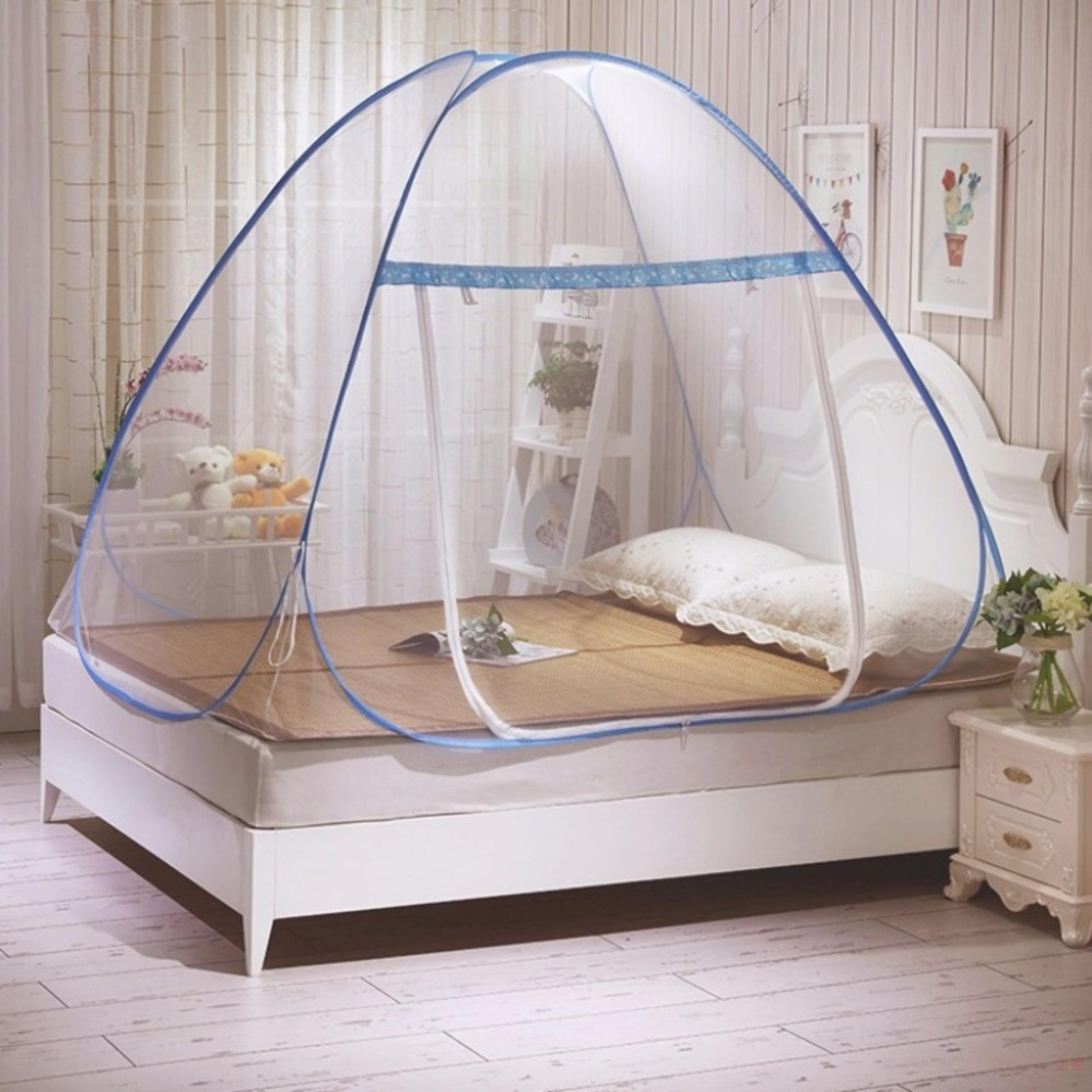 Candy Online King Size Double Bed Mosquito nets tents (Blue) | Lazada PH & Candy Online King Size Double Bed Mosquito nets tents (Blue ...