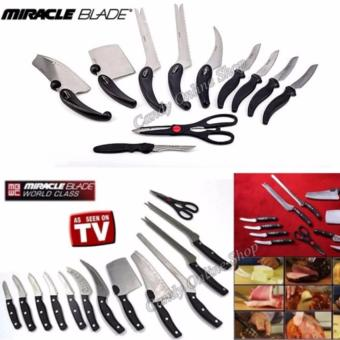 Candy Online Miracle Blade World Class 13PCS knife set TV