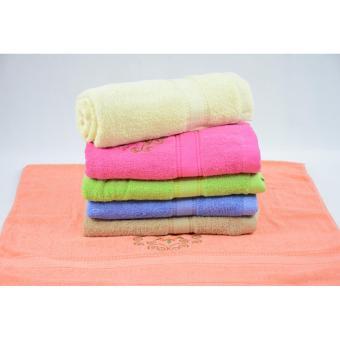 Cannon 6 IN 1 Bath Towel (Flowers Design - F002) - 3