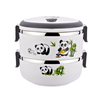 Cartoon PANDA cute lunch box insulated container