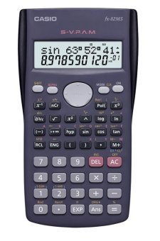 Casio Black Scientific Calculator Fx-82Ms