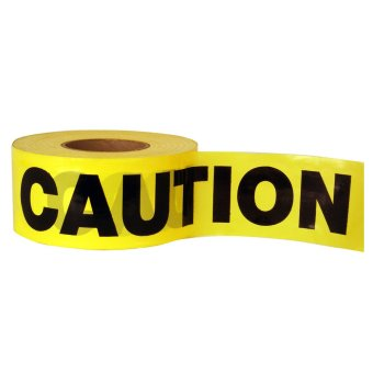 Caution Tape 3in.x 350mtrs (Yellow)