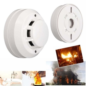 Ceiling Fire Smoke Sensor Detector Alarm Tester Home Family GuardSecurity 12V - intl