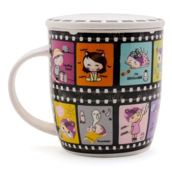 Ceramic Cute New Design Film Mug (Multicolor) - Hannah's Gift