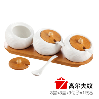 Ceramic salt shaker seasoning bottles