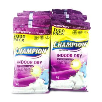 Champion Detergent Powder Indoor Dry (80g x 12)