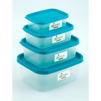 Charm Plasticware Food keeper (set of 4)