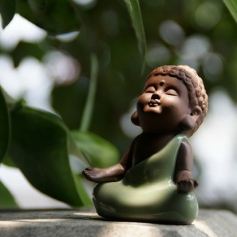 Chen Xiang play tea clay Buddha tea pet tea tray
