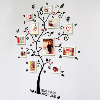 Chic Family Photo Frame Tree Mural Wall Sticker Home Decor Room Decals