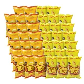 Chickboy Pop-Nik 20 Pcs Sweet Corn Bundle with 20 Pcs Cheese Price Philippines
