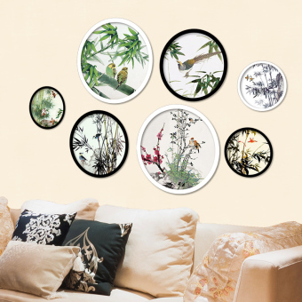 Chinese-style poster paper sticker wall adhesive paper