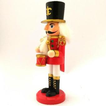 Christmas Decor Wooden Nutcracker 21 CM Figurine for the Holiday(Made of wood) by Everything About Santa (Christmas decoration andgift suggestion) - 2
