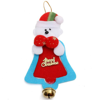 Christmas Ornament Party Tree Hanging Bell Decoration Bear