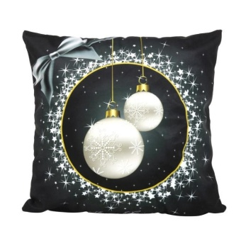 Christmas Santa Claus Pillow Case Sofa Waist Throw Cushion CoverHome Decor - intl