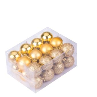 Christmas tree balls ornament (gold 5cm) Price Philippines