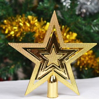 Christmas tree Christmas topstar five point star