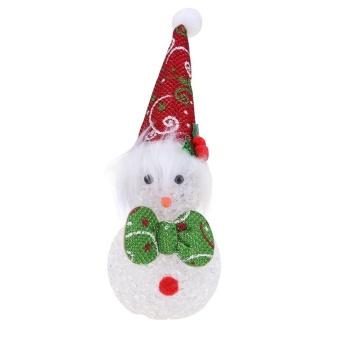 Santa Claus Snowman Tree Door Christmas Decoration Hanging Pendantred Intl - Daftar Update Harga Terbaru Indonesia