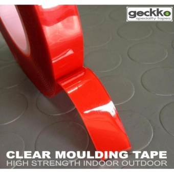 CLEAR MOULDING TAPE by Geckko Specialty Tapes Super strengthMolding Tape 03614 Tape 0.4mm x 2s