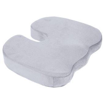 Coccyx Orthopedic Memory Foam Seat Cushion for Chair Car OfficeHome Grey (Intl)