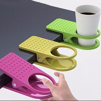 Colorful Clip On Table Cup Holders - Random Set Of 3 Price Philippines