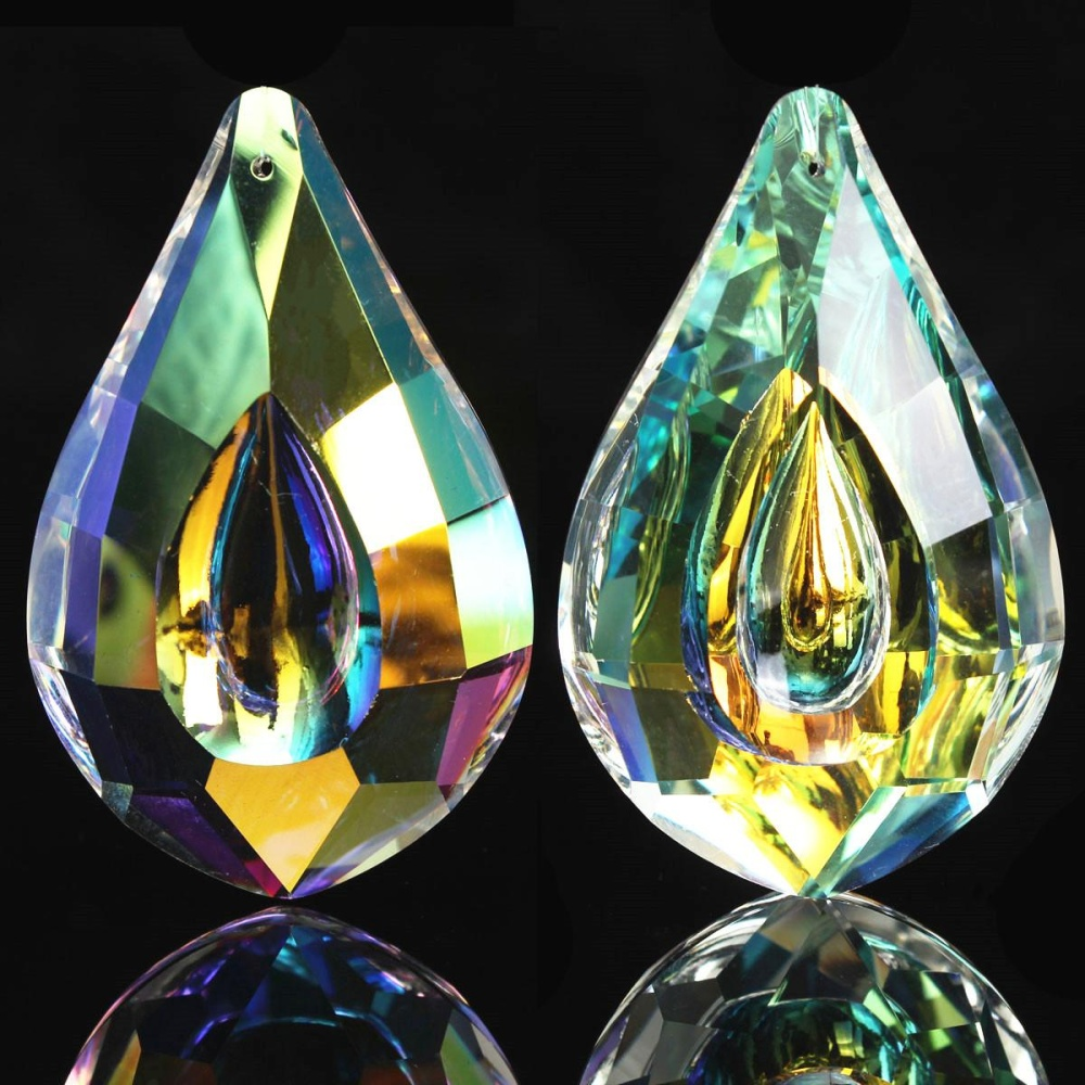 Philippines colorful glass crystals lamp chandelier prisms parts colorful glass crystals lamp chandelier prisms parts hanging drops pendants 76mm intl aloadofball Images