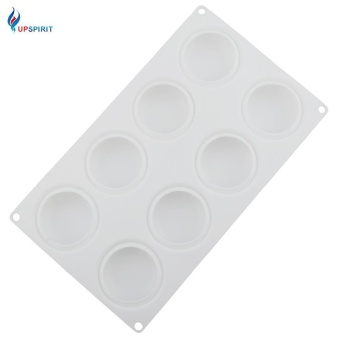 Cookie Shaped Silicone French Mousse Cake Mold - intl