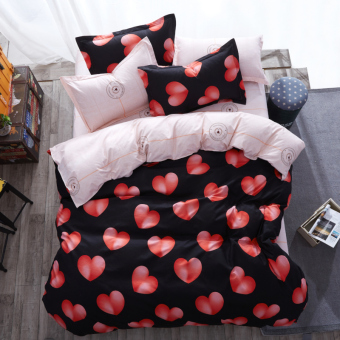 Cool Single double student bed quilt cover bedsheet
