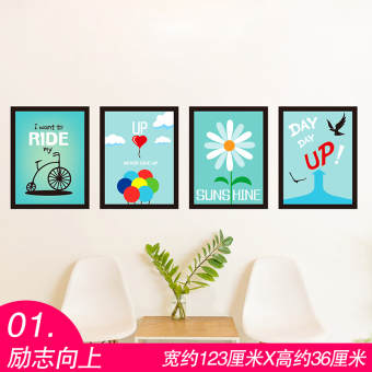 Cool sticker bedroom Bizhi wall adhesive paper