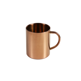 Copper stainless steel insulated coffee cup mug