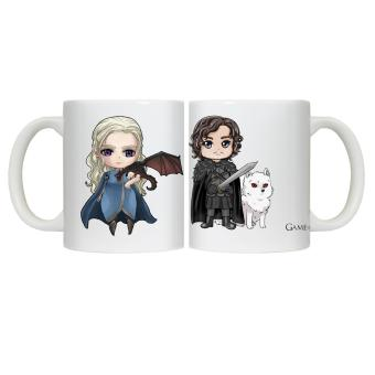 CopyCut Couple Cute Statement Mug Game of Thrones Mother of Dragon - Gift Set