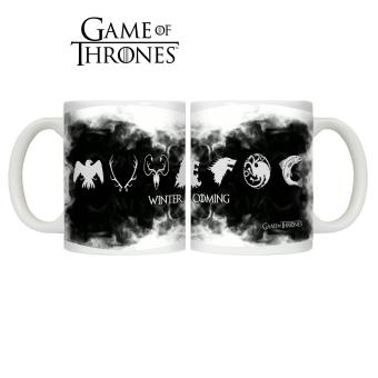 CopyCut Game Of Thrones Couple Mug : 7 Kingdoms Logo
