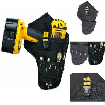 Cordless Drill Holder Holster Tool Belt Pouch - intl
