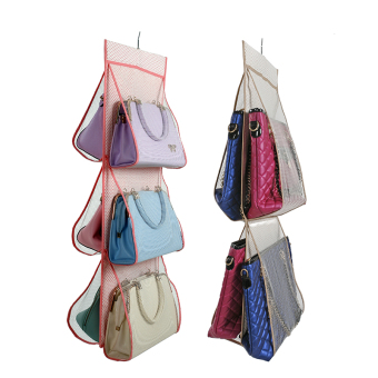 Cotton linen multi-layer bag hanging pouch hanging bag