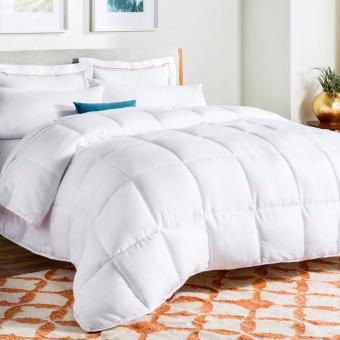 Cotton white comforter king size (200x220cm)