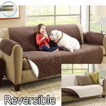 Couch Coat Reversible Washable Sofa Cover