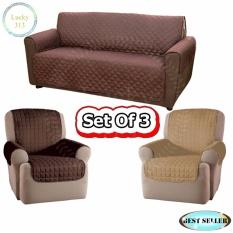 Couch Coat Reversible Washable Sofa Cover Plus 2pcs Couch Coat Single