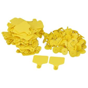 Cow Cattle Large Livestock Ear Tag Set Of 100 Yellow Price Philippines