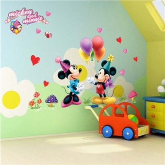 Cozy Home PVC Removable Wall Decor Sticker (Mickey Mouse) Part 54