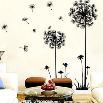 Creative Dandelion Wall Art Decal Sticker Removable Mural PVC HomeDecor - intl