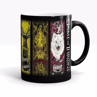 Creative Game of Thrones Mug Heat Sensitive Color Changing CoffeeTea Mug Ceramic Mug - intl