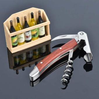 Creative Stainless Steel Cork Screw Multi-Function Wine Bottle CapOpener New - intl