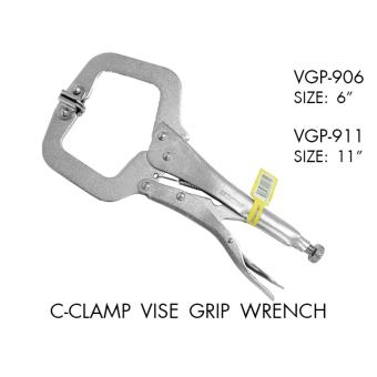 Wood Source · Latest 2pcs Locking Quick C Clamp Alloy Steel Vise Grip .